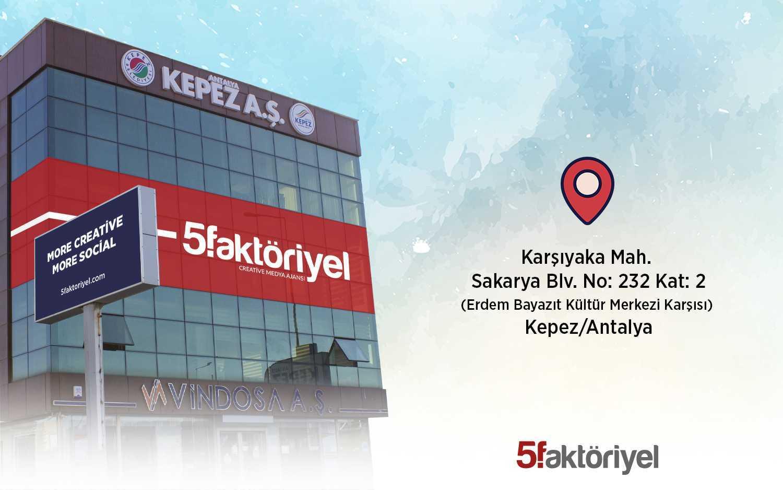 5 Faktöriyel Antalya Reklam Ajansı