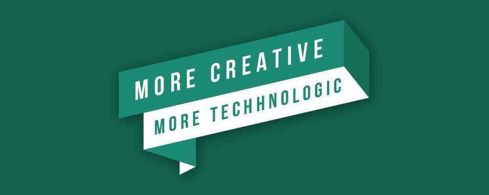 Daha Yaratıcı, Daha Teknolojik Web Tasarım