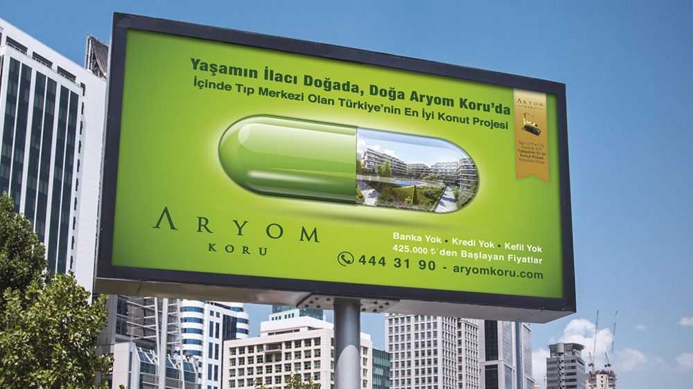 Antalya Açık Hava Reklamları